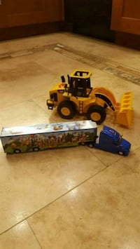 Disney truck and loader truck