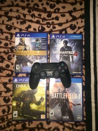 *Brand New* PS4 Controller & 4 Games Surrey, V3S 8X2