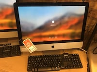 silver iMac with wireless keyboard and mouse Chicago, 60644