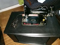 black and gray Singer treadle sewing machine London, N5Z 2A4