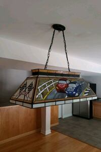 Stained glass Nascar Pool table light Huntingtown, 20639