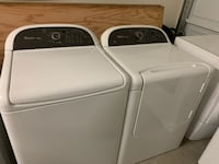 White Whirlpool Cabrio Washer and Electric Dryer Phoenix
