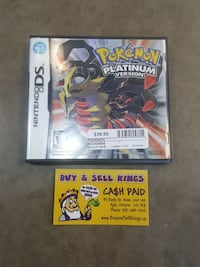 Platinum Version Pokemon $39.99