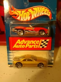 Hot wheels Advance Auto 2 pack