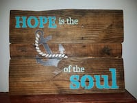 reclaimed pallet wood sign Belleview, 34420