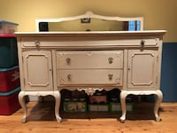 Antique Sideboard with Mirror Burtonsville