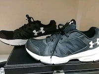 pair of black-and-white Nike basketball shoes McAllen, 78501