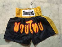 Yellow and black Muay Thai shorts Burlington, L7L 5S8