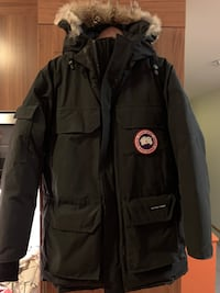 Svart Canada Goose Expedition parka Ranheim, 7056