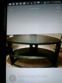 black glass top TV stand London, N6E 2B2