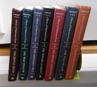 A Series of Unfortunate Events Book Vol 2-8 Vancouver