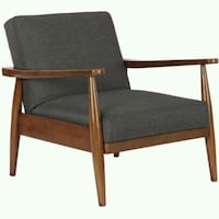 Chair wood with linen upholstery  Las Vegas, 89115