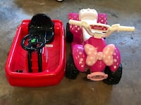 Toddler's pink and black ride on atv Roswell, 30076