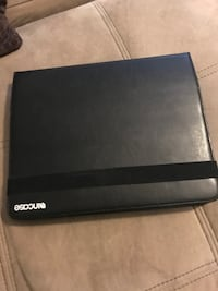 black and gray Samsung laptop