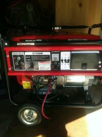 red and black portable generator Hayward, 94544