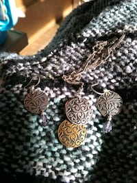 Necklace and earring set from mast General store Waynesville, 28785