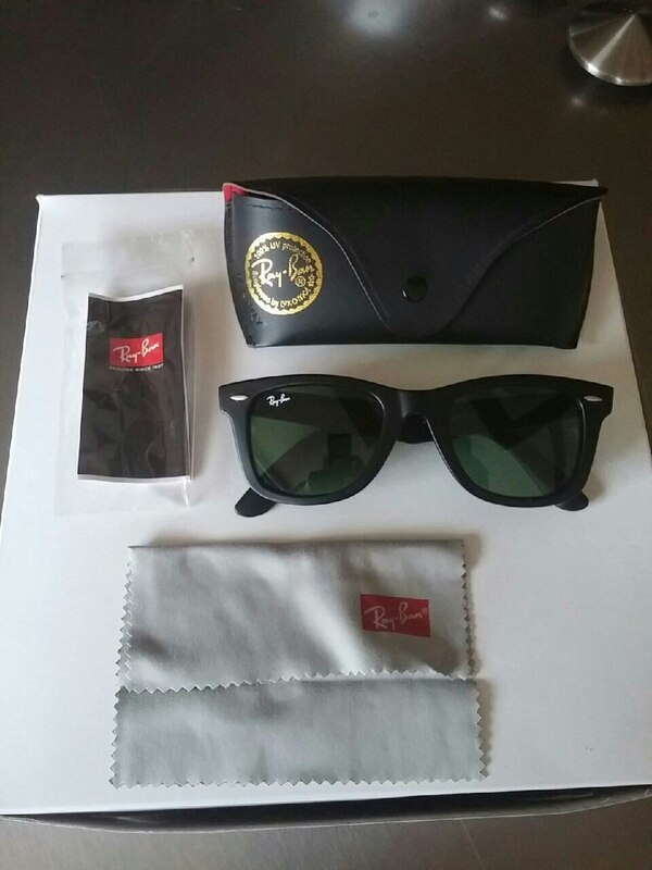 Ray Ban Wayferer with case