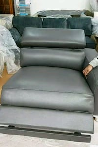 New imported Italian ash Grey recliner  Toronto, M6P 3S6