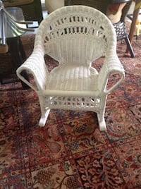 Child's wicker rocker  Medfield, 02052