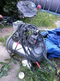 gray air compressor