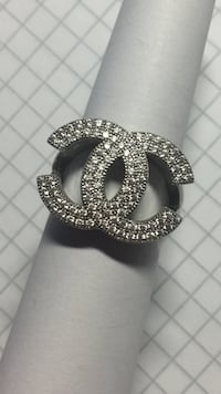 Sølv ring (925) Chanel