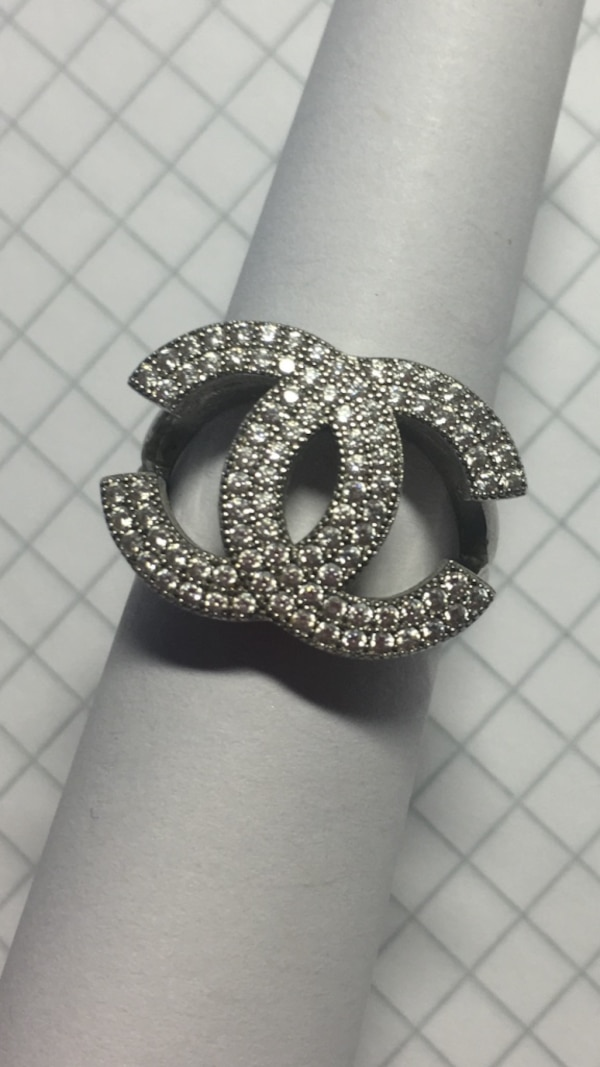 Sølv ring (925) Chanel  0