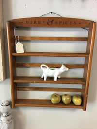 spice rack/ shelving