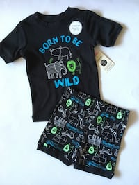 New With Tags Size 3 Shorts & T-Shirt  Montréal, H4M 2K7