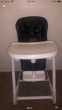 Joovy Foodoo high chair in black. Perfect condition