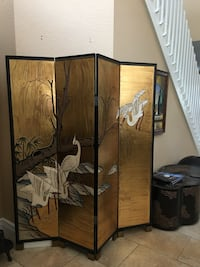 Gold and black Oriental screen Fort Myers, 33908