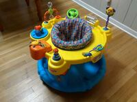 baby's yellow and blue activity saucer West Springfield, 22152