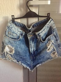 short en jean bleu Saint-Laurent-du-Var, 06700