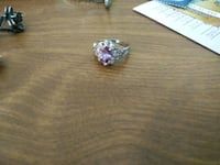 amethyst silver ring Chester, 23836