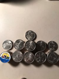 State hood quarters uncirculated coins  Cherry Hill, 08003