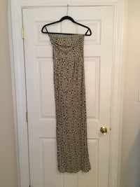 brown and black floral spaghetti strap maxi dress Danville, 40422
