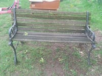 Antique park bench  Allegan, 49010