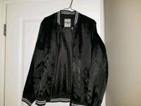 black leather zip-up jacket Edmonton, T5E 5S7