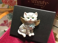 Cute!! Angel Kitty pin with wings Gainesville, 20155