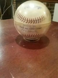 autographed Rawling baseball College Park, 20740