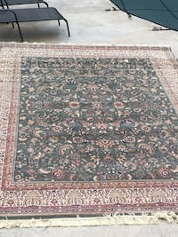 brown and black floral area rug Wrentham, 02093