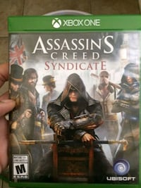 Assasins creed SYNDICATE game for XBOX ONE Niagara-on-the-Lake, L0S 1T0