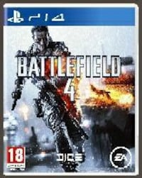 Battlefield 4 Sony PS4 game case