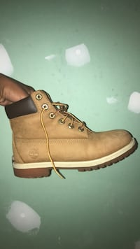 real timberland boots size 6  Gaithersburg, 20878
