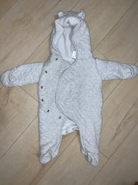 Carter's Sherpa- Lined Hooded Bunting Grey Brampton, L7A 1T9