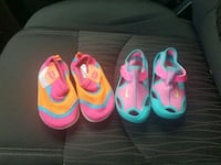 toddler's two pairs of pink and blue shoes Odenton, 21113