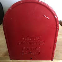 "Mailbox ""GO BIG RED "" Treynor, 51575"