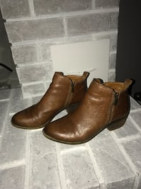 Lucky Brand Jeans leather boots Abbotsford