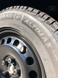 """BRAND NEW 17"""" Winter Tires w/ Steel  null"""