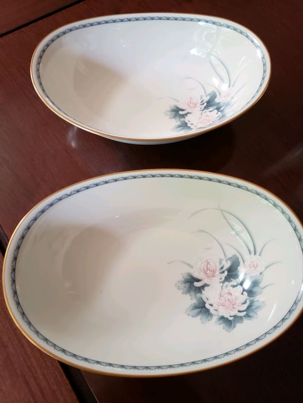 Vintage Noritaki Ivory China 7268 Nightsong 9