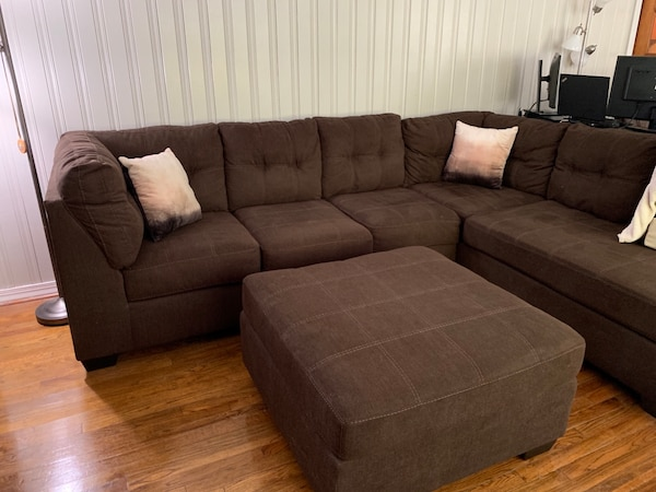 pretty nice c5418 eba78 Ashley Furniture Pitkin Couch and Ottoman